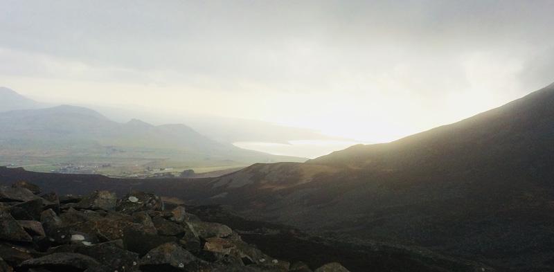 8003933rdpeak - Pen Llyn Three Peaks - Storming the Forts